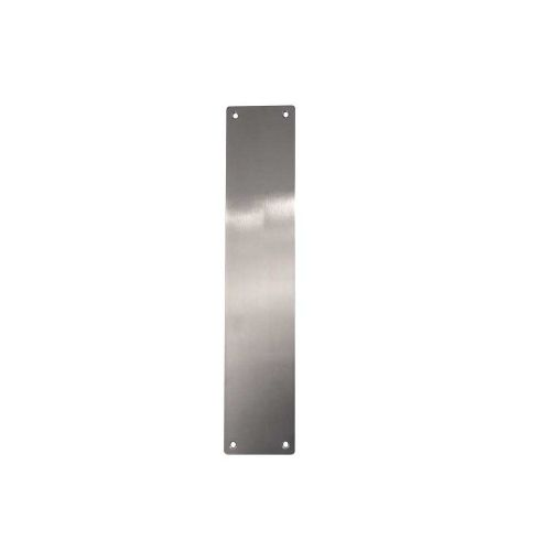 Finger / Push Plates - Satin Stainless Steel